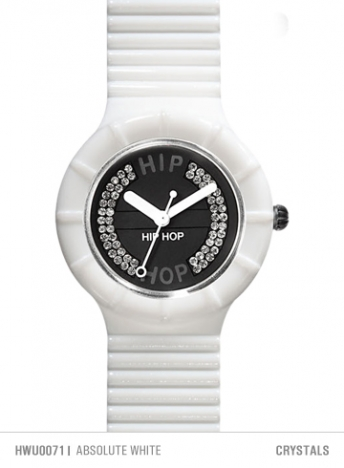 Orologio Hip Hop 32 mm Crystal Absolute White HWU0071