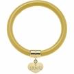 Bracciale rigido Liu Jo Glamour LJ755 giallo oro shopper Liu Jo in regalo