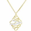 Collana Stroili dorato oro giallo e glitter ST1614993 collezione etoile