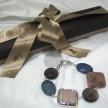 Bracciale pietre dure argento 925% con pietra di luna Della Rovere